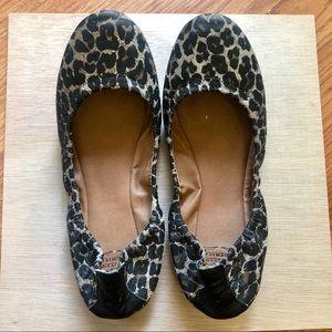 Cheetah Print Lucky Brand Ballet Flats